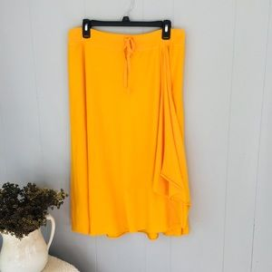 SUNDANCE yellow skirt! Pretty!!